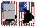 Amazon Kindle 3 Skin :: American Flag 2
