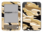 Amazon Kindle 3 Skin :: Camo Desert