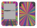 Amazon Kindle 3 Skin :: Color Blast