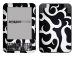 Amazon Kindle 3 Skin :: Curly Contours