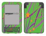 Amazon Kindle 3 Skin :: Floating Stars
