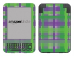 Amazon Kindle 3 Skin :: Punk Rock Plaid