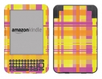 Amazon Kindle 3 Skin :: Sun Kissed Plaid