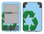 Amazon Kindle 3 Skin :: Recycle