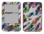 Amazon Kindle 3 Skin :: Shredded Circuit