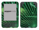 Amazon Kindle 3 Skin :: Splatter Green