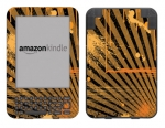 Amazon Kindle 3 Skin :: Splatter Orange