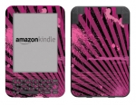 Amazon Kindle 3 Skin :: Splatter Pink