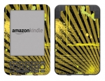 Amazon Kindle 3 Skin :: Splatter Yellow