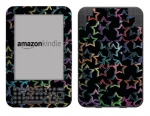 Amazon Kindle 3 Skin :: Star Circuit