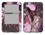 Amazon Kindle 3 Skin :: Tree Camo Pink