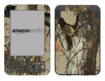 Amazon Kindle 3 Skin :: Tree Camo Tan