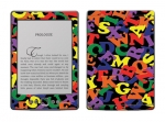 Amazon Kindle 4 Skin :: Alphabet Soup