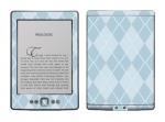 Amazon Kindle 4 Skin :: Argyle Blue