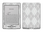 Amazon Kindle 4 Skin :: Argyle Gray