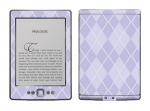 Amazon Kindle 4 Skin :: Argyle Purple