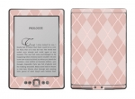 Amazon Kindle 4 Skin :: Argyle Red