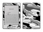 Amazon Kindle 4 Skin :: Camo Snow
