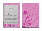 Amazon Kindle 4 Skin :: Floating Hearts