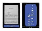 Amazon Kindle 4 Skin :: Kiss Me Dork