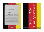 Amazon Kindle 4 Skin :: Kiss Me German