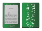 Amazon Kindle 4 Skin :: Kiss Me Irish