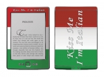 Amazon Kindle 4 Skin :: Kiss Me Italian
