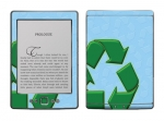 Amazon Kindle 4 Skin :: Recycle