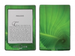Amazon Kindle 4 Skin :: Spiraling Green