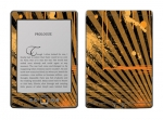 Amazon Kindle 4 Skin :: Splatter Orange