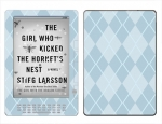 Amazon Kindle DX Skin :: Argyle Blue