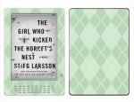 Amazon Kindle DX Skin :: Argyle Green