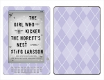 Amazon Kindle DX Skin :: Argyle Purple