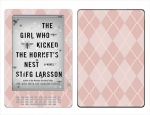 Amazon Kindle DX Skin :: Argyle Red