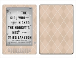 Amazon Kindle DX Skin :: Argyle Tan