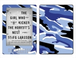 Amazon Kindle DX Skin :: Camo Blue