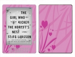 Amazon Kindle DX Skin :: Floating Hearts