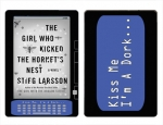 Amazon Kindle DX Skin :: Kiss Me Dork