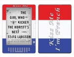 Amazon Kindle DX Skin :: Kiss Me French