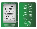 Amazon Kindle DX Skin :: Kiss Me Irish