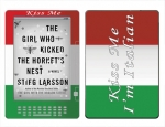 Amazon Kindle DX Skin :: Kiss Me Italian
