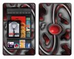 Amazon Kindle Fire Skin :: Cynic Red