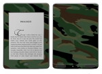 Amazon Kindle Touch Skin :: Camo Green