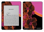 Amazon Kindle Touch Skin :: Cosmic Flowers 3