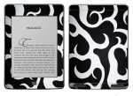 Amazon Kindle Touch Skin :: Curly Contours