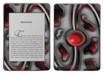 Amazon Kindle Touch Skin :: Cynic Red
