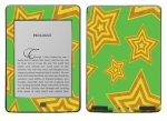 Amazon Kindle Touch Skin :: Falling Stars