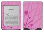Amazon Kindle Touch Skin :: Floating Hearts