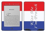 Amazon Kindle Touch Skin :: Kiss Me French