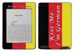 Amazon Kindle Touch Skin :: Kiss Me German